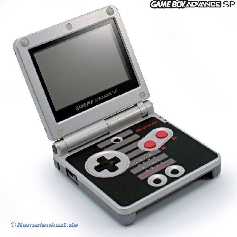 Gba Gameboy Advance Sp Nes Edition Consolas Videojuegos Game