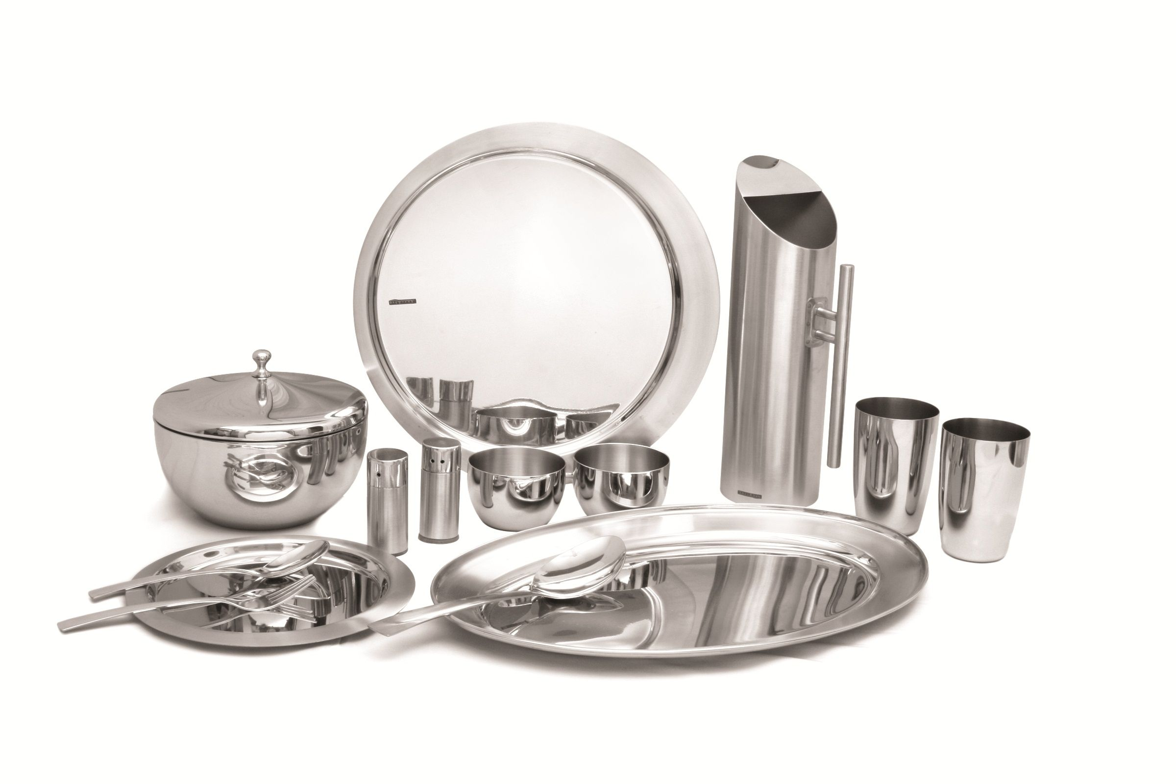 stainless steel dinnerware set from india.  sc 1 st  Pinterest & stainless steel dinnerware set from india.   Props.   Pinterest ...