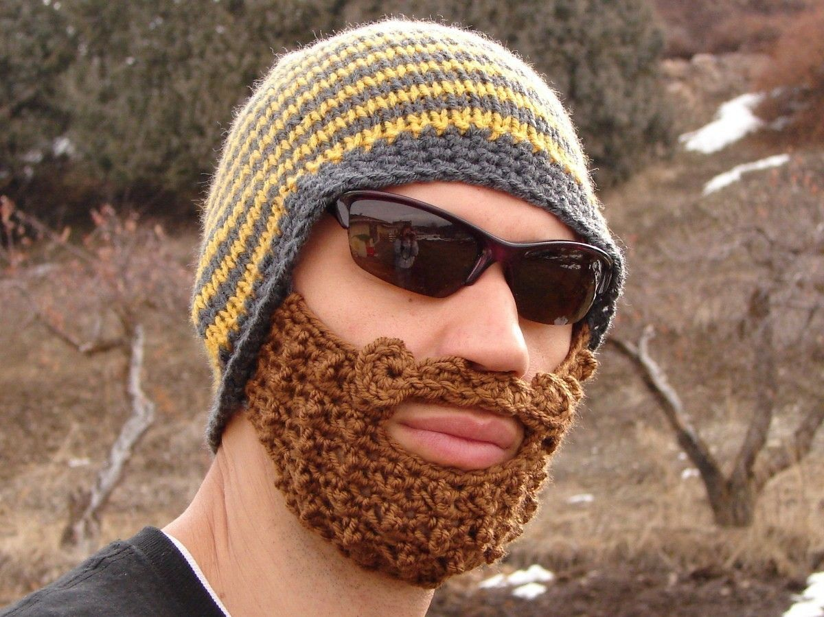 2aebbdc0b27 This authentic beard beanie is perfect for cold weather activities like  snowboarding