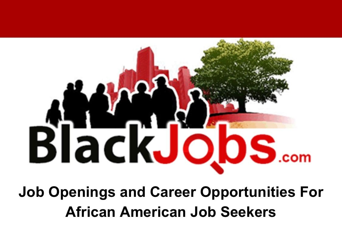 Black Jobs American jobs, Job opening, Job