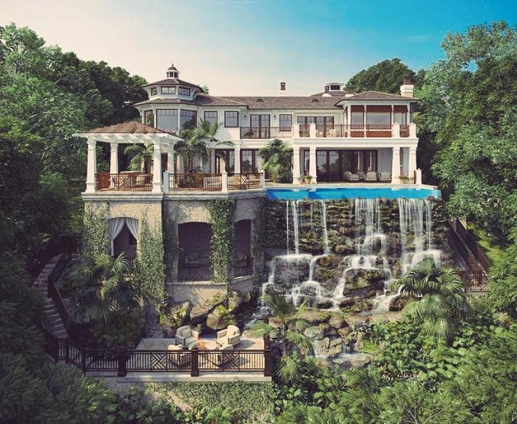 Luxury Spots On Mansions Dream House Exterior Modern