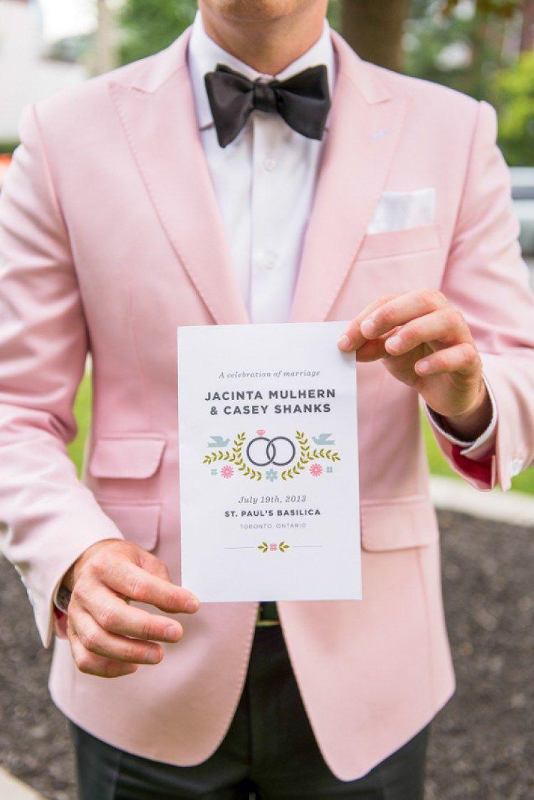 50 Pink Wedding Ideas | Años y Boda