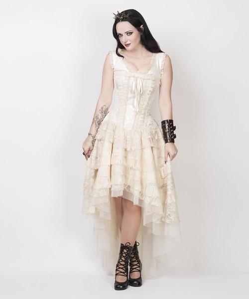 40ce684bd51 VG-19368 - Victorian Inspired Corset Dress