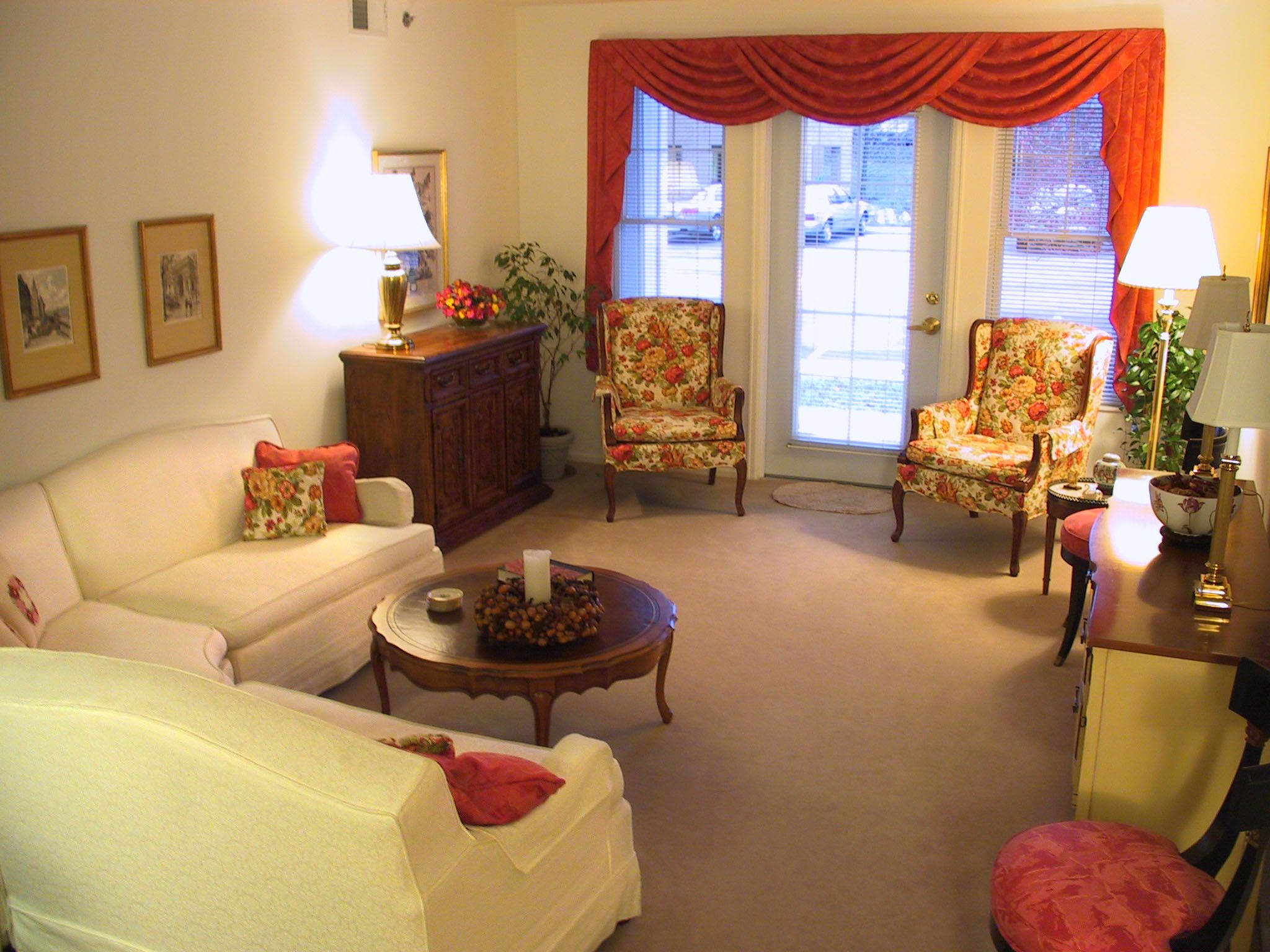 Independent Living Room At Laclede Groves Senior In St Louis Missouri