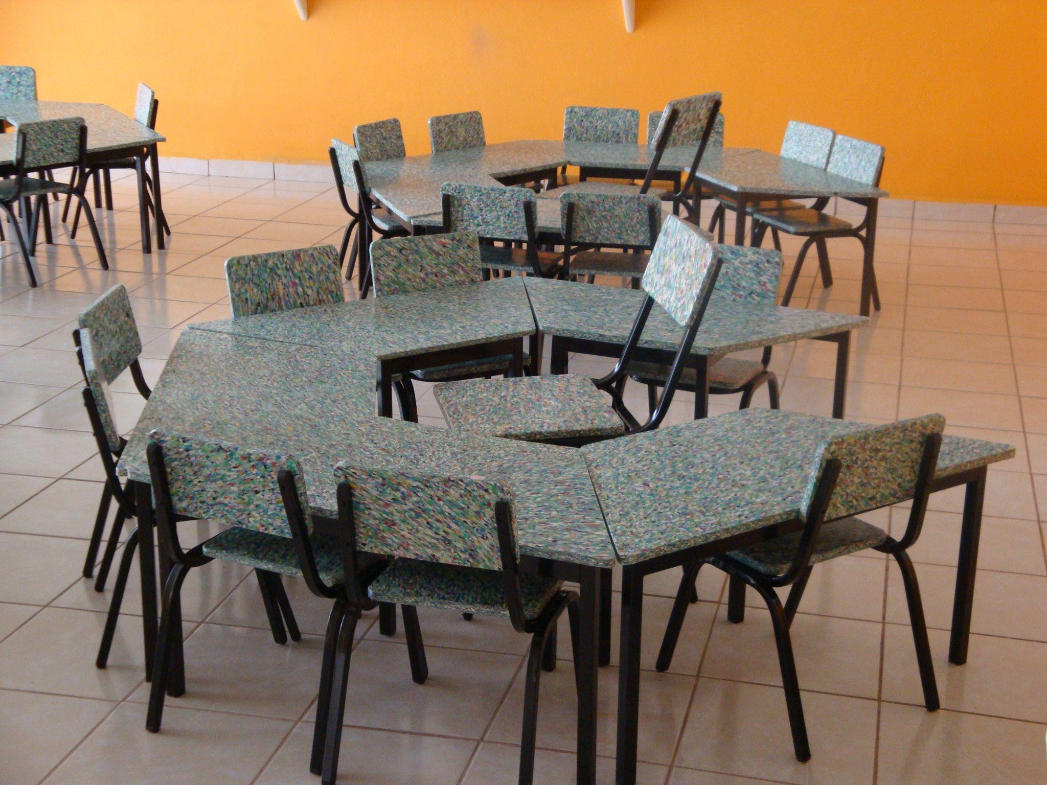 Mobiliario Hecho Con Madera Plastica Plastimadera Plastitablas O  # Muebles Tejidos De Plastico