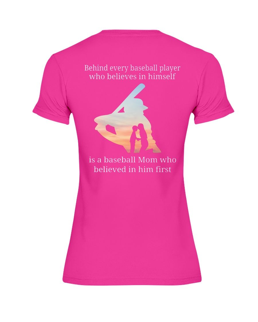 Behind Every Baseball Player Baseball Players Player Shirt Baseball