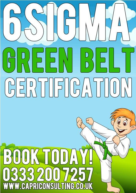 Six Sigma Green Belt Certification Httpcapriconsulting
