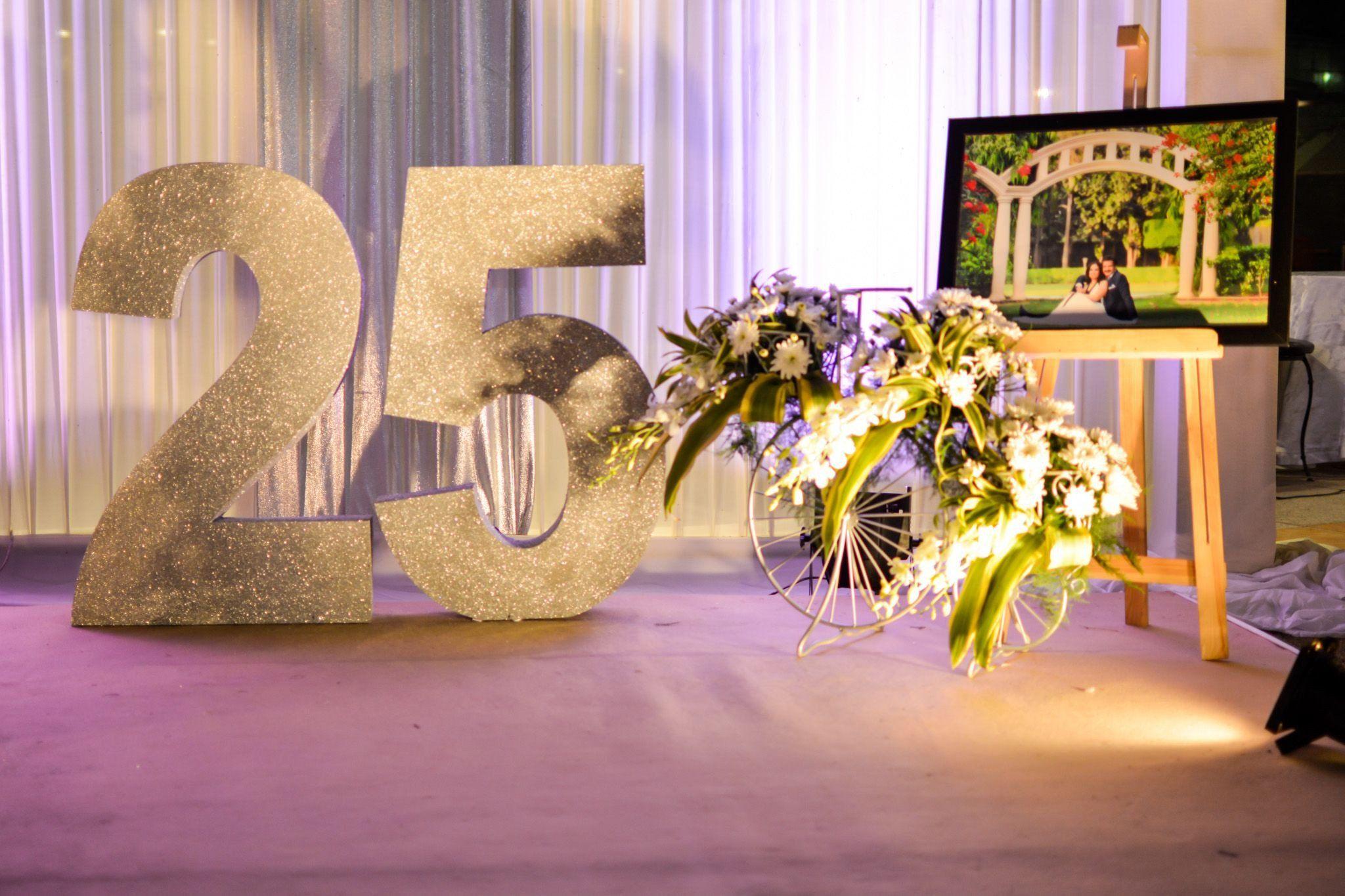 25th Anniversary Decoration Ideas Fresh Anniversary Decoratio