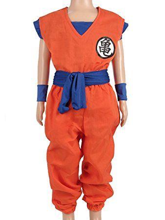 Coolchange Dragon Ball Kinder Kostum Son Goku Trainings Anzug Beim Herr Der Schildkroten Grosse 110 Dragonball Kinder Kostum Kostum Kinder Kostume