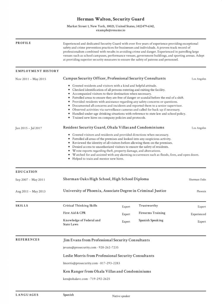 Gratis Engels CV Voorbeelden 2020 Engel
