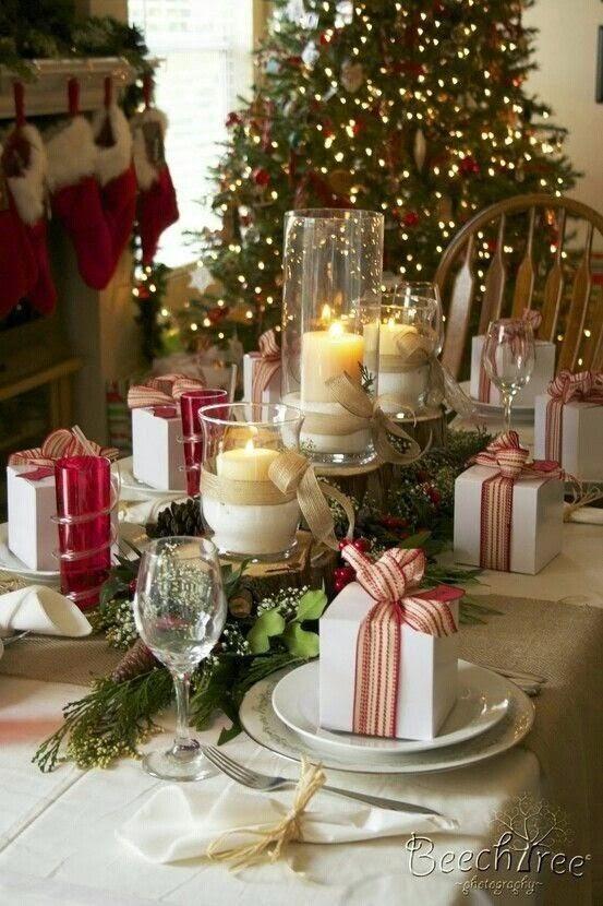 ideas para la cena de navidad decoracin