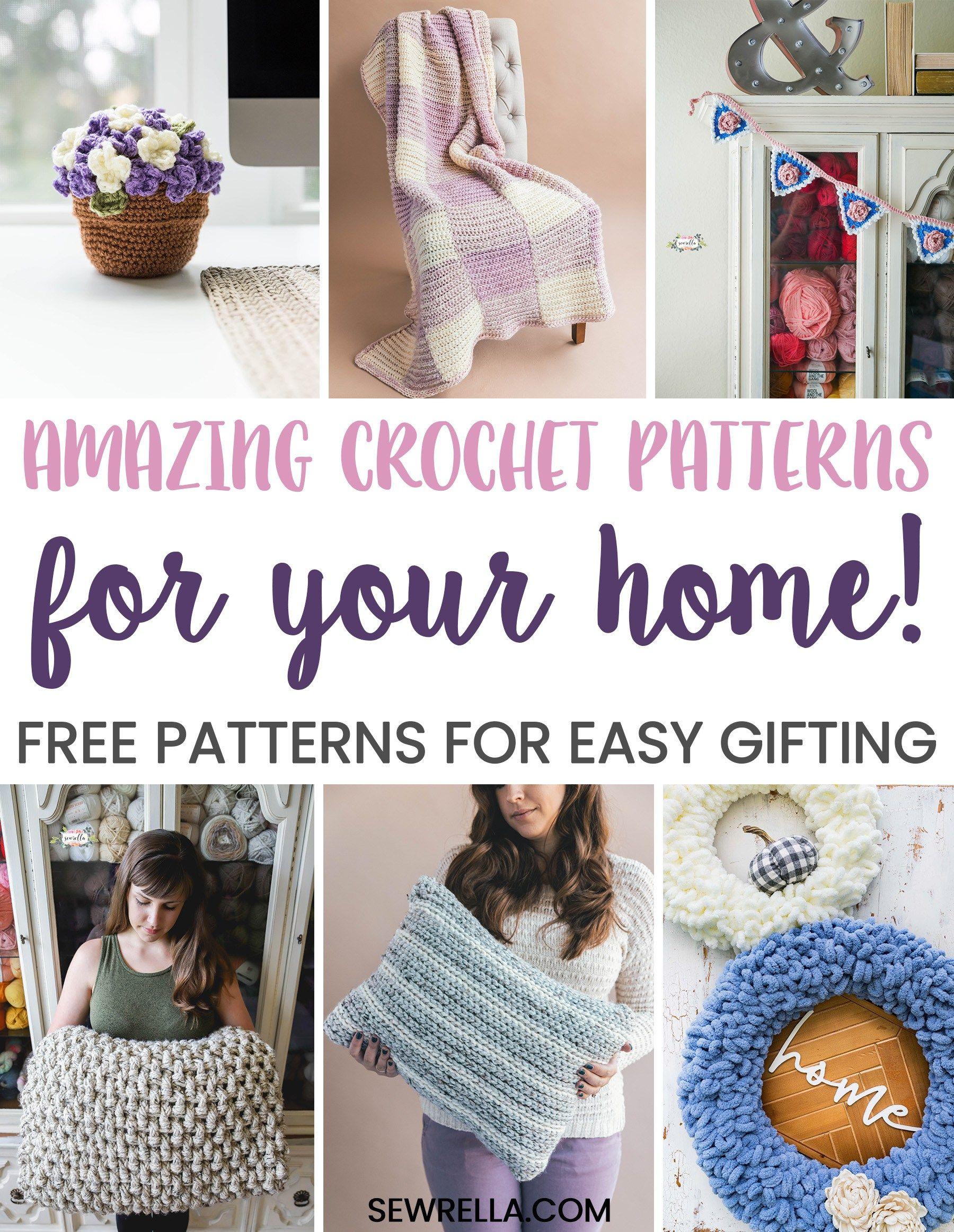 10 Free Crochet Home Decor Patterns Crochet Home Crochet