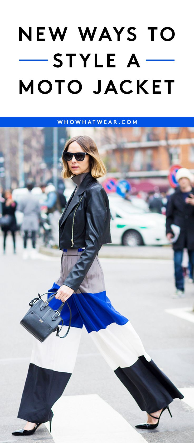 Bring a leather jacket back to life with these outfit ideas
