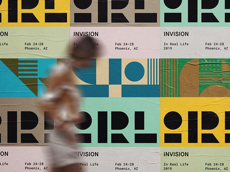 InVision IRL Dribbble, Visual branding