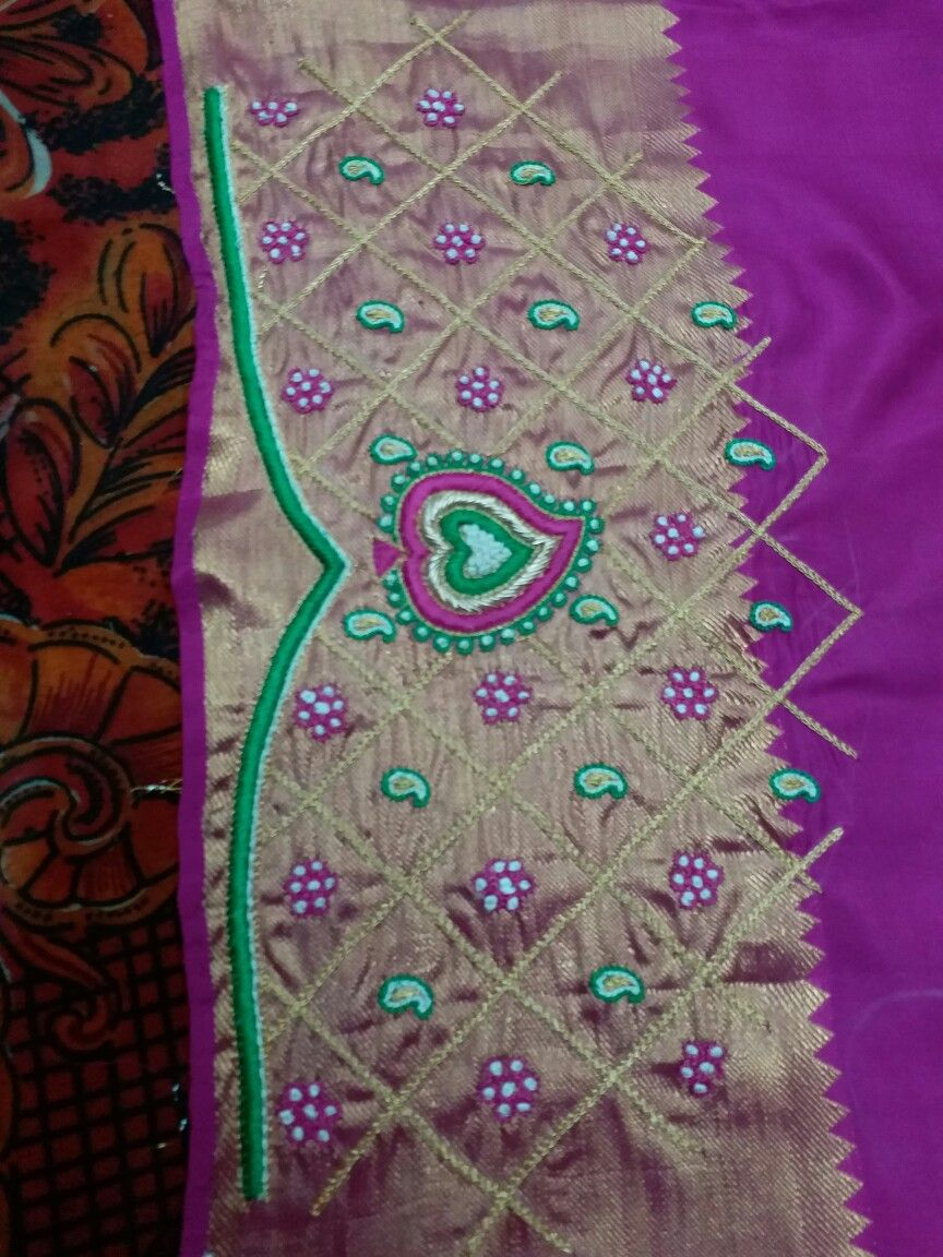 Saree blouse design cutting and stitching pin by nice fashion creation chickmagalur on blouses  pinterest
