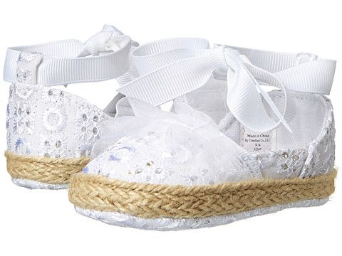 7eec22b5e5e Baby Deer Espadrille Soft Sole Tie (Infant)
