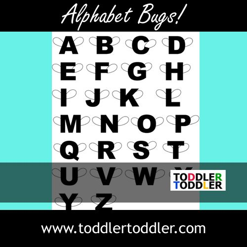 Alphabet Bugs  A Fun Way To Learn Letters From Www