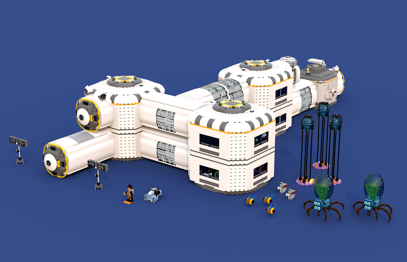Subnautica Underwater Base In The Grand Reef Cool Lego Cool Lego Creations Lego Architecture