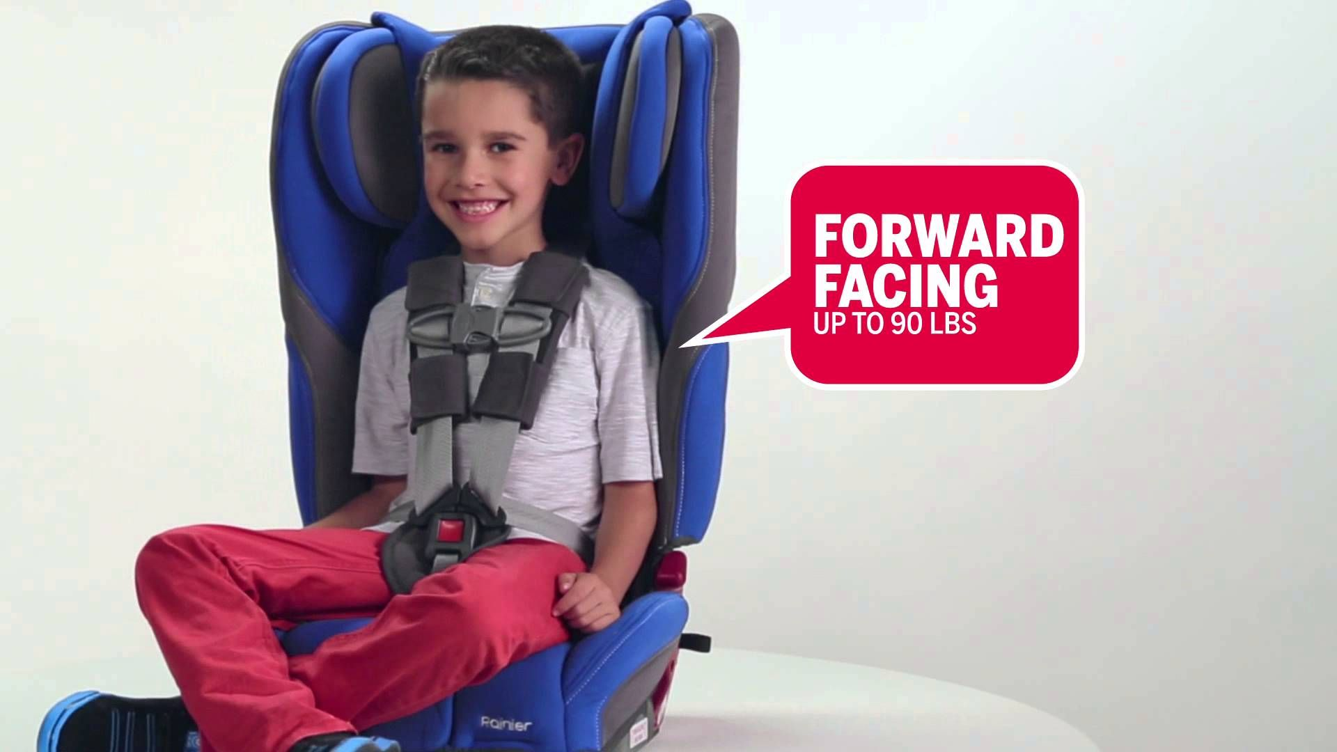 Meet the new Diono Rainier Convertible+Booster car seat!