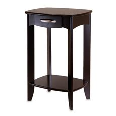 Danica Side Table Bed Bath Beyond Side Table Wood Winsome Wood