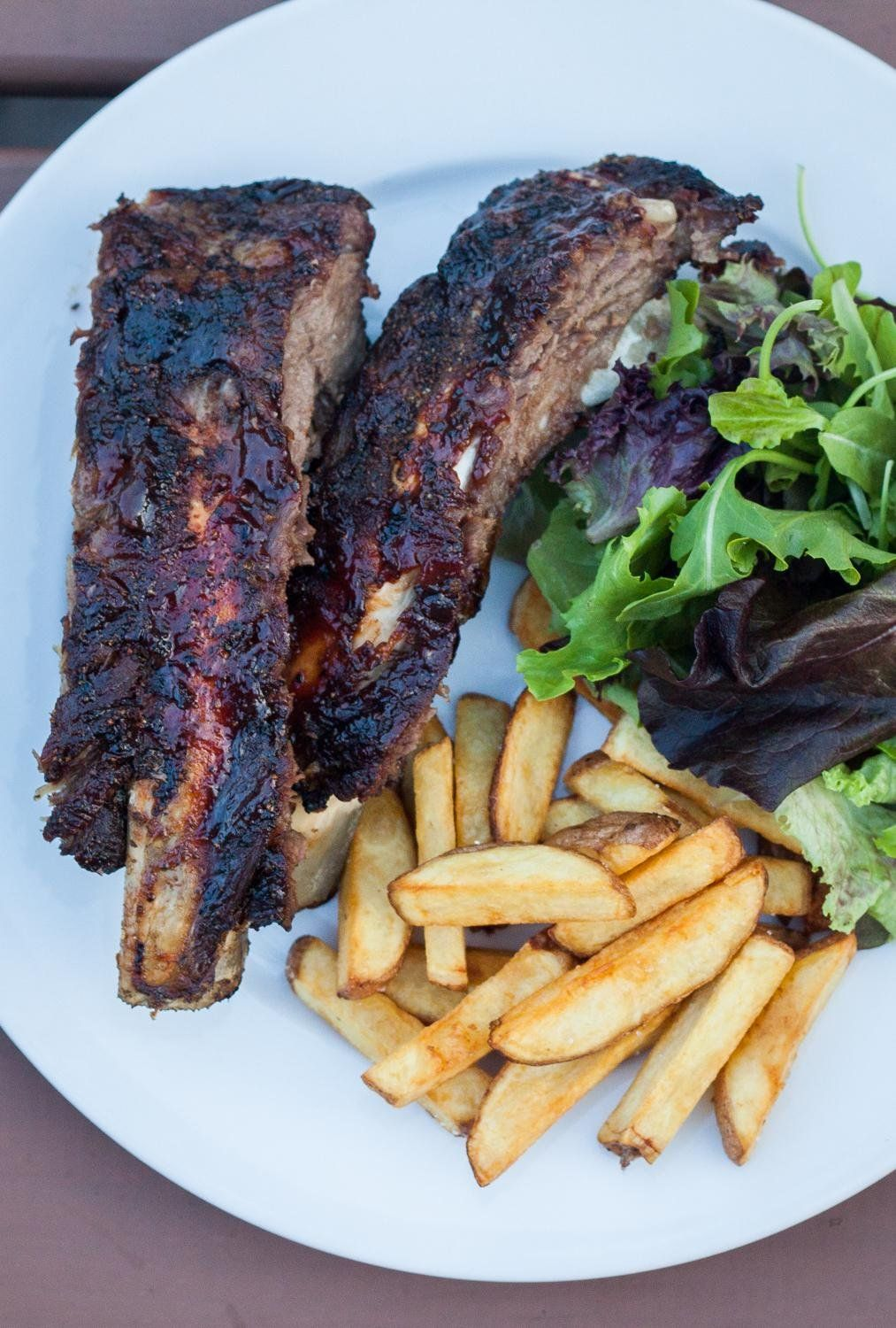 Gas Grilled Beef Back Ribs By The Domestic Man Recipe Beef Back Ribs Grilled Beef Rib Recipes