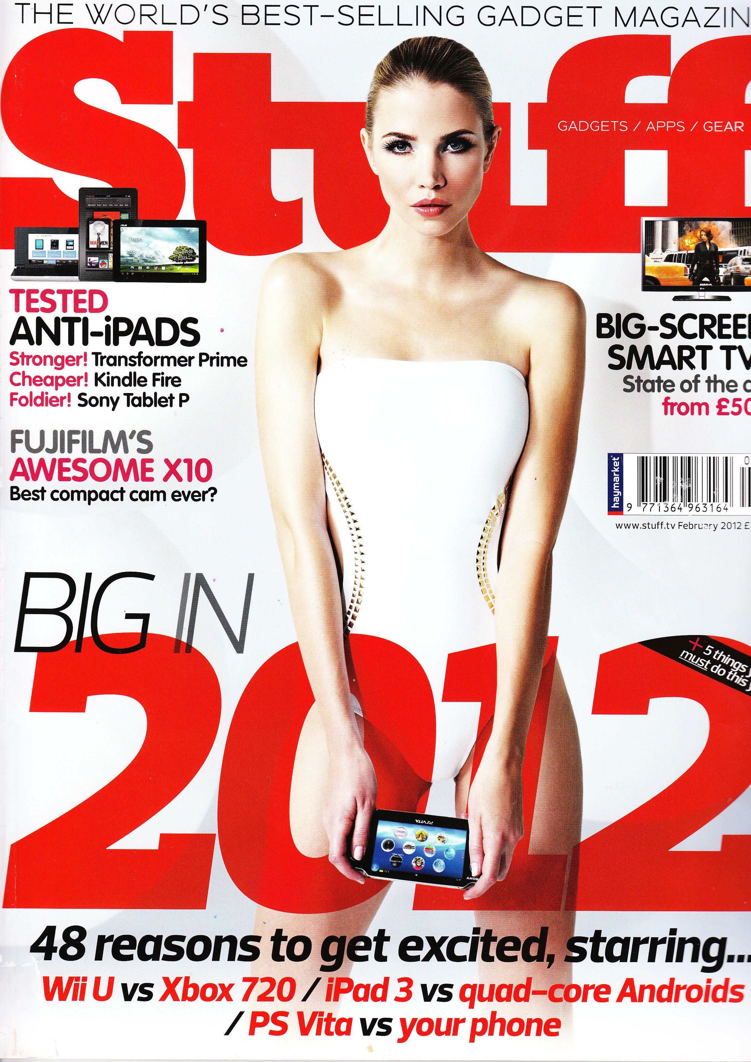 Stuff The Worlds BestSelling Gadget Magazine Gadget