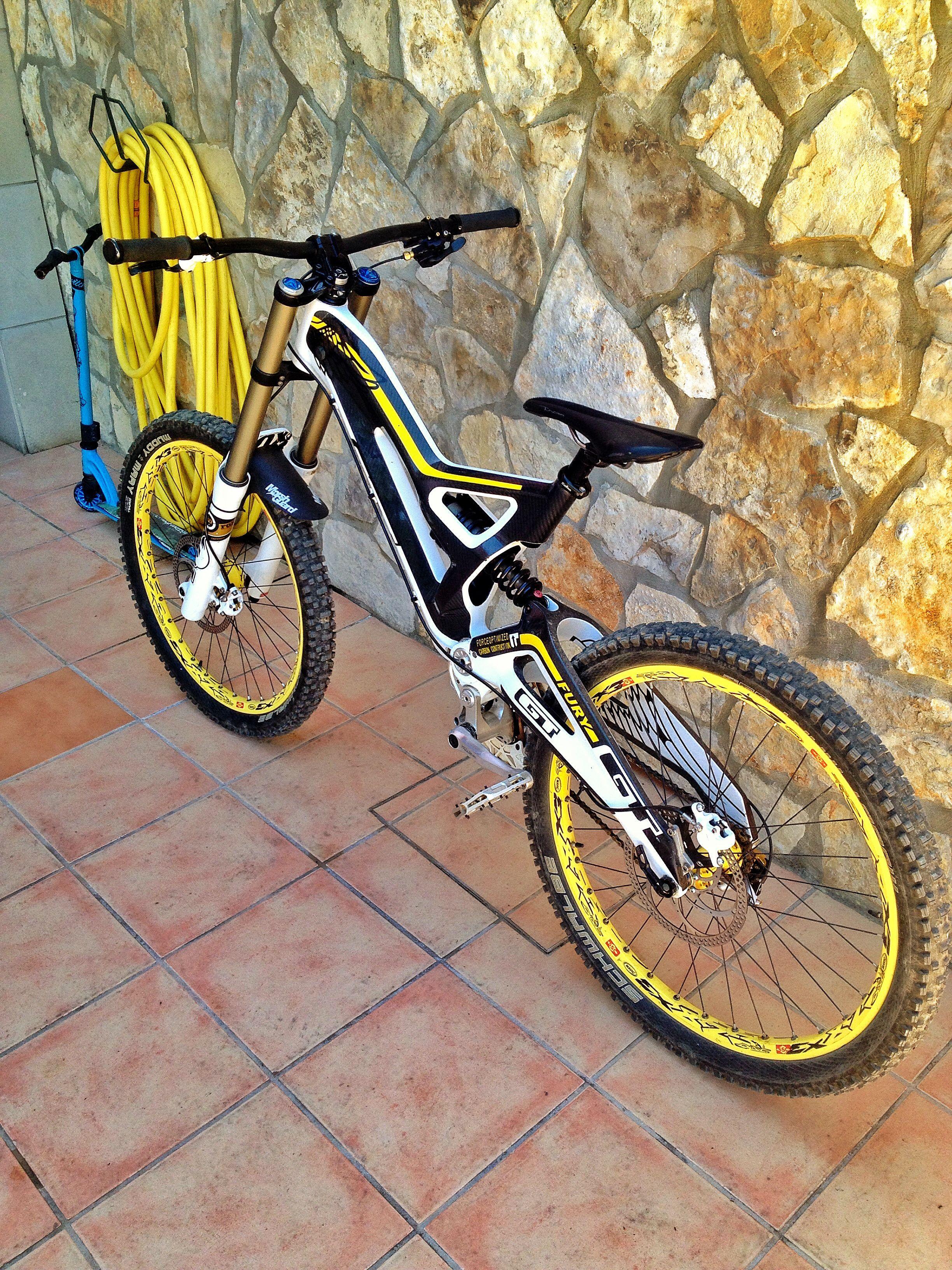 7e757445e5c Dad's Gt Fury Carbon World Cup 2012 | Mountain bike | Gt mountain ...