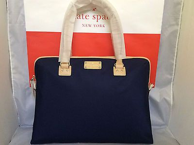 ce6f9c576 NWT-Kate-Spade-French-Navy-Kennedy-Park-Calista-Laptop-Computer-Briefcase- Bag