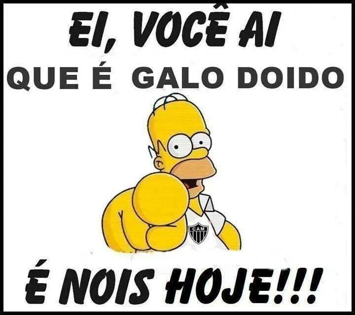 E Nois Hoje Galoucura Clube Atletico Mineiro Atletico