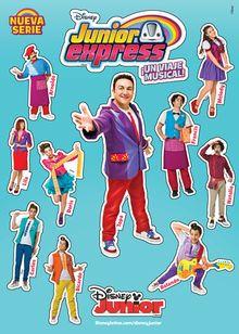 Edicion De Junior Express Serie Wikia Junior Express Fandom Junior Express Imagenes De Junior Accesorios Para Cumpleanos