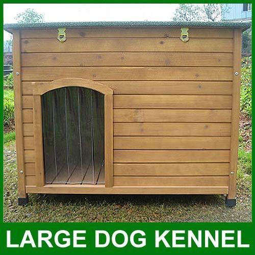 Slant Roof Dog House Plans Dog Kennel Sloped Roof