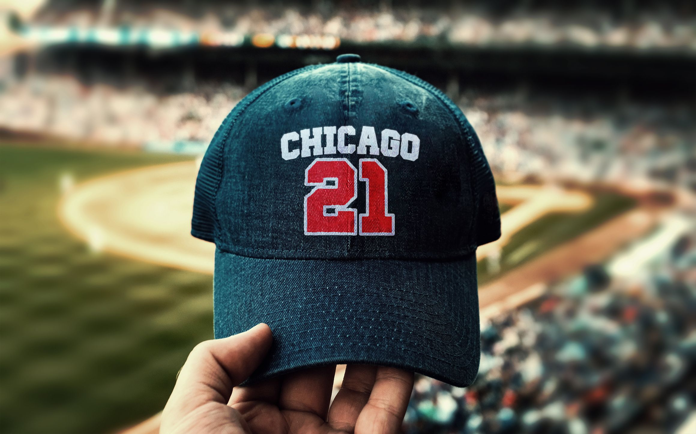 Download Free Realistic Cap Mockup Chicago Games For Men Baseball Game Outfits
