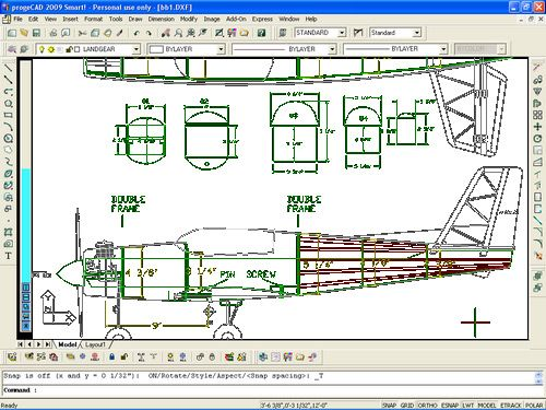 free computer aided drawing progeCAD 2009 Smart! | 3D Printer | Pinterest | Free cad program ...