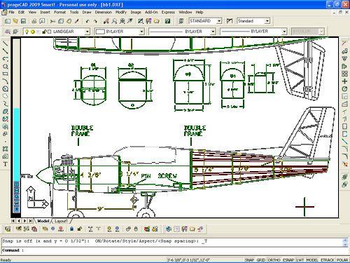 progeCAD 2009 Smart! 3D Printer Pinterest Free cad program - best of blueprint software free mac