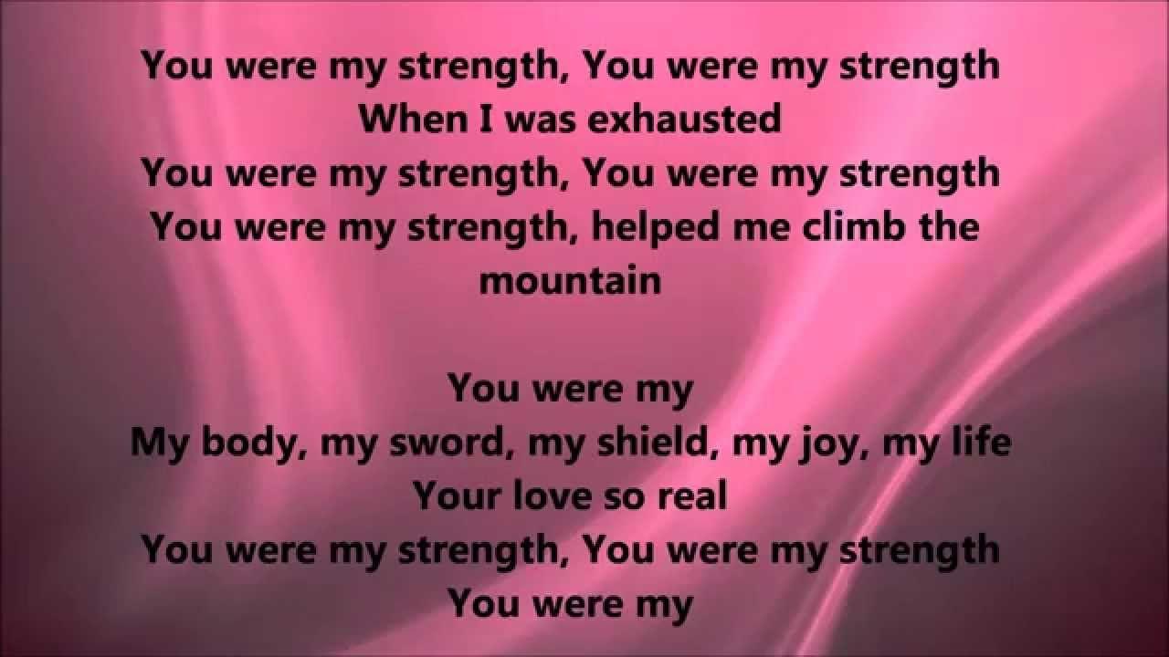 Deitrick Haddon - You Are My Strength (Lyrics)   More