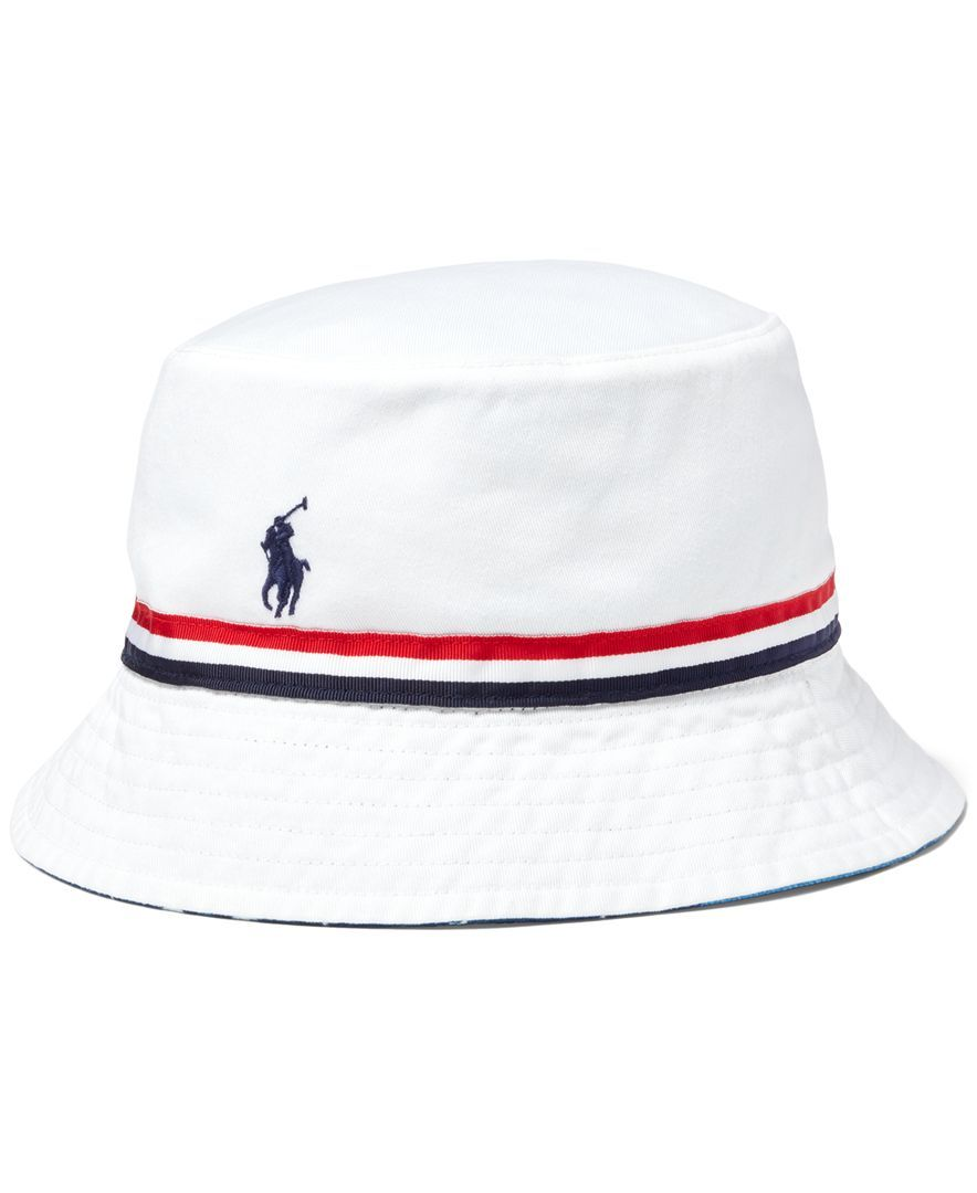 bbbd617cb6e7c Polo Ralph Lauren Team Usa Reversible Bucket Hat