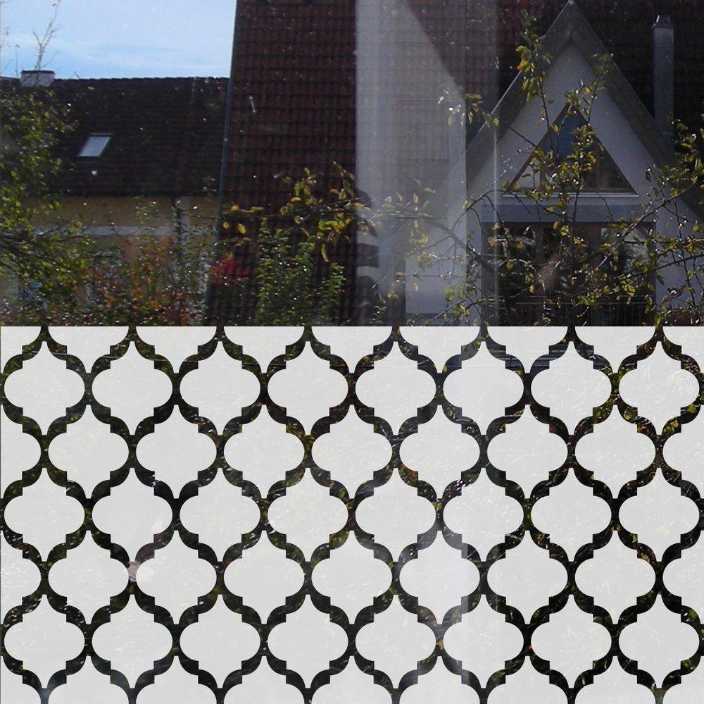 Fensterfolie Mit Motiv Marokkanische Formen Fensterfolie Fensterfolie Dekor Fenster
