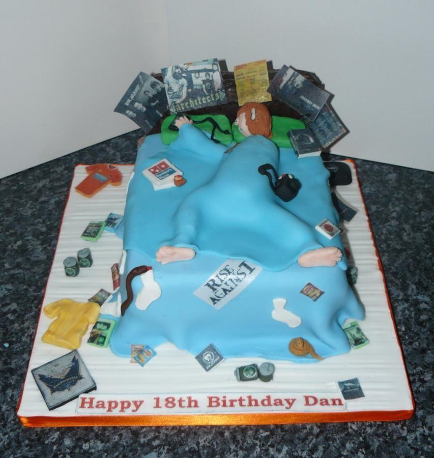 Birthday Cake Round Teenager Boy