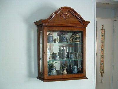 Pulaski Furniture Wall Mount Or Mantel Curio Cabinet