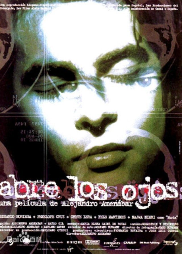 Abra Os Olhos Abre Los Ojos 1997 Filmes Abra Olhos