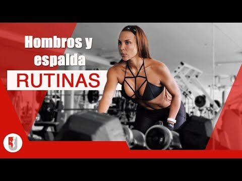 Rutina de HOMBROS Y ESPALDA para mujeres  JON JAMES CANO - YouTube