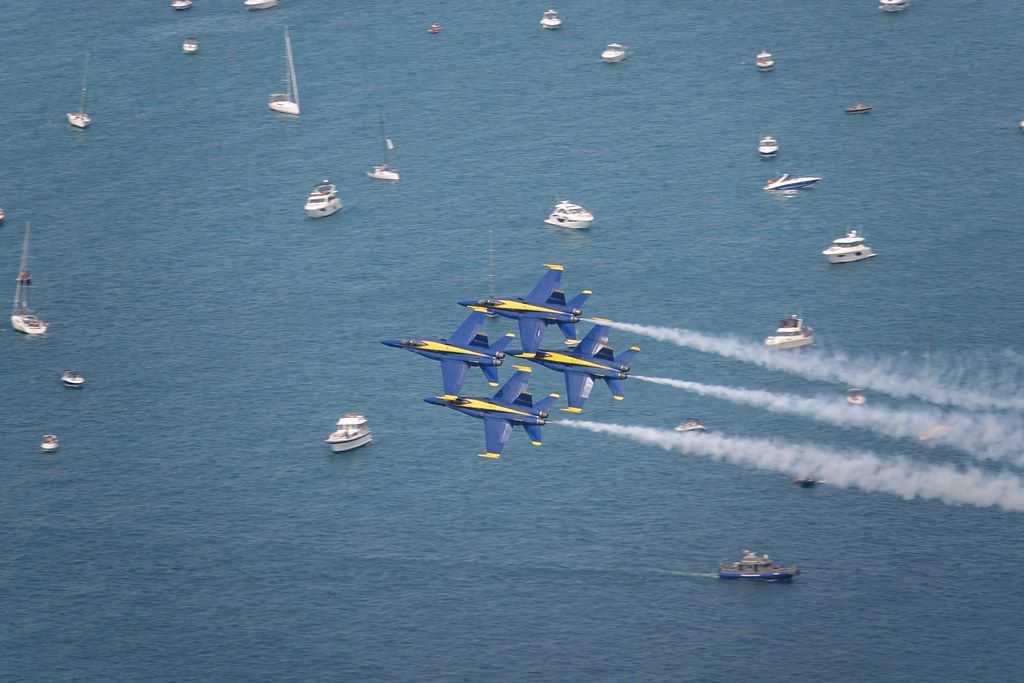 Chicago Air and Water Show 2019 Chicago