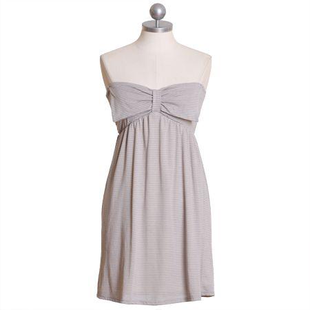 be my sweetheart stripe bow dress $38.99