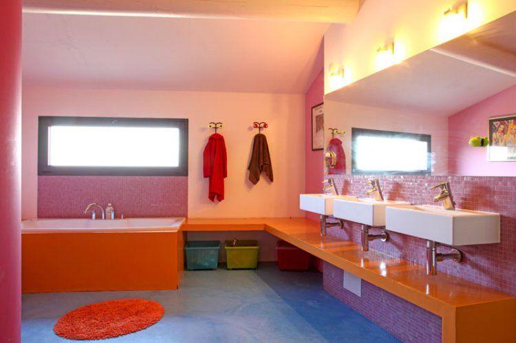 Aménager une salle de bain pour enfants kid bathrooms bathroom kids and corian