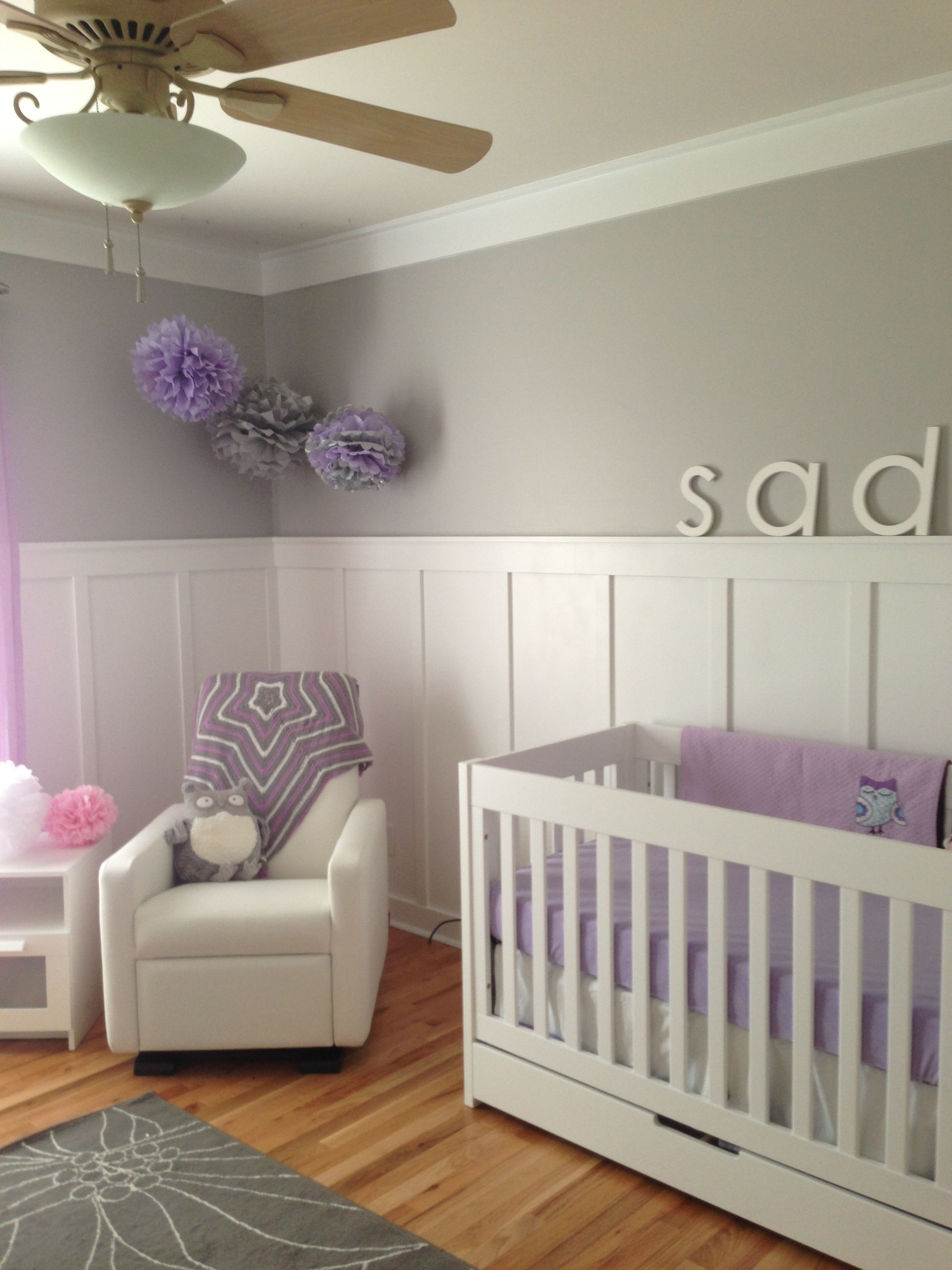 Pin By Trinette Atri On For My Girl Kids Room Grey Girl Room Grey Bedroom Paint