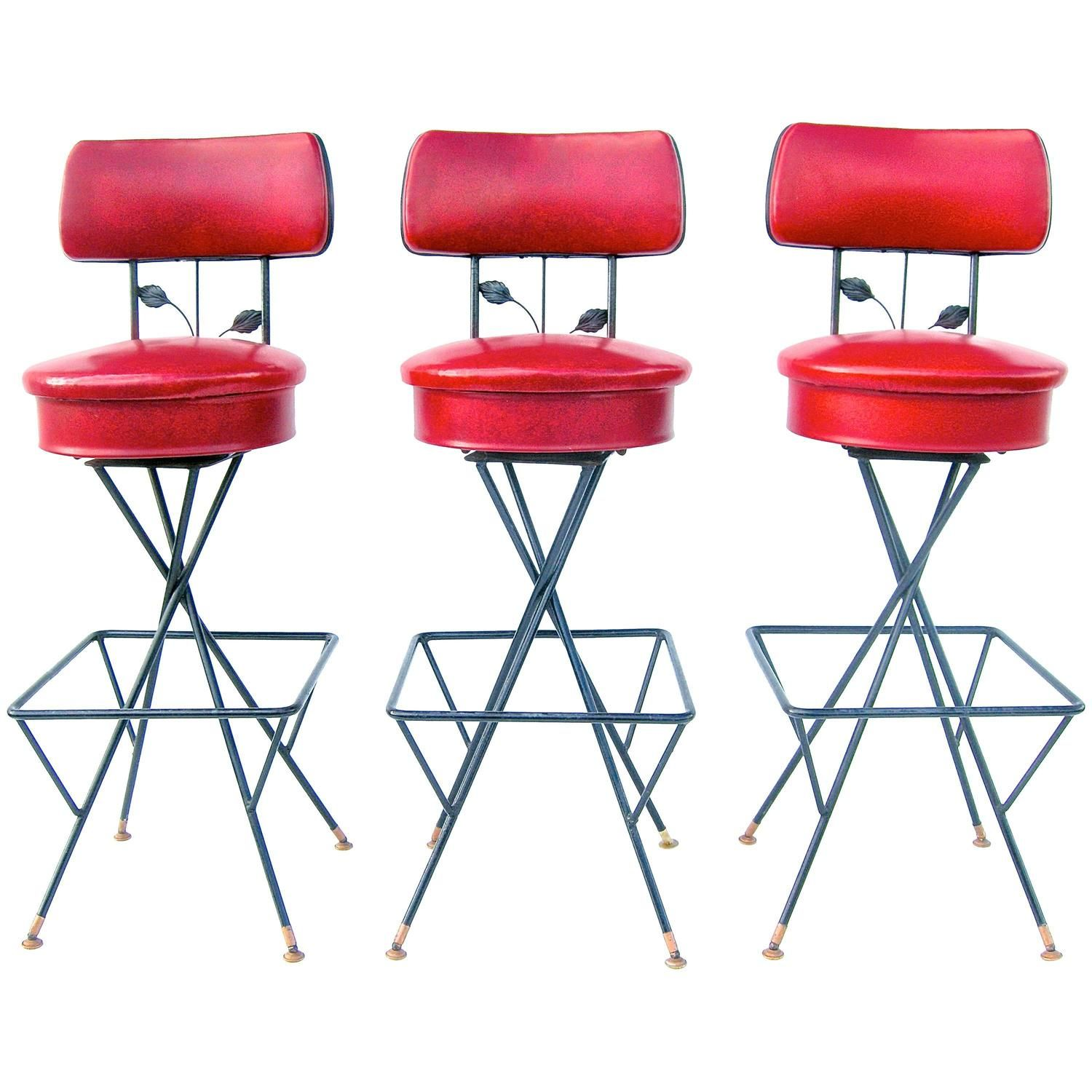 Trio Of Cherry Licious Bar Stools