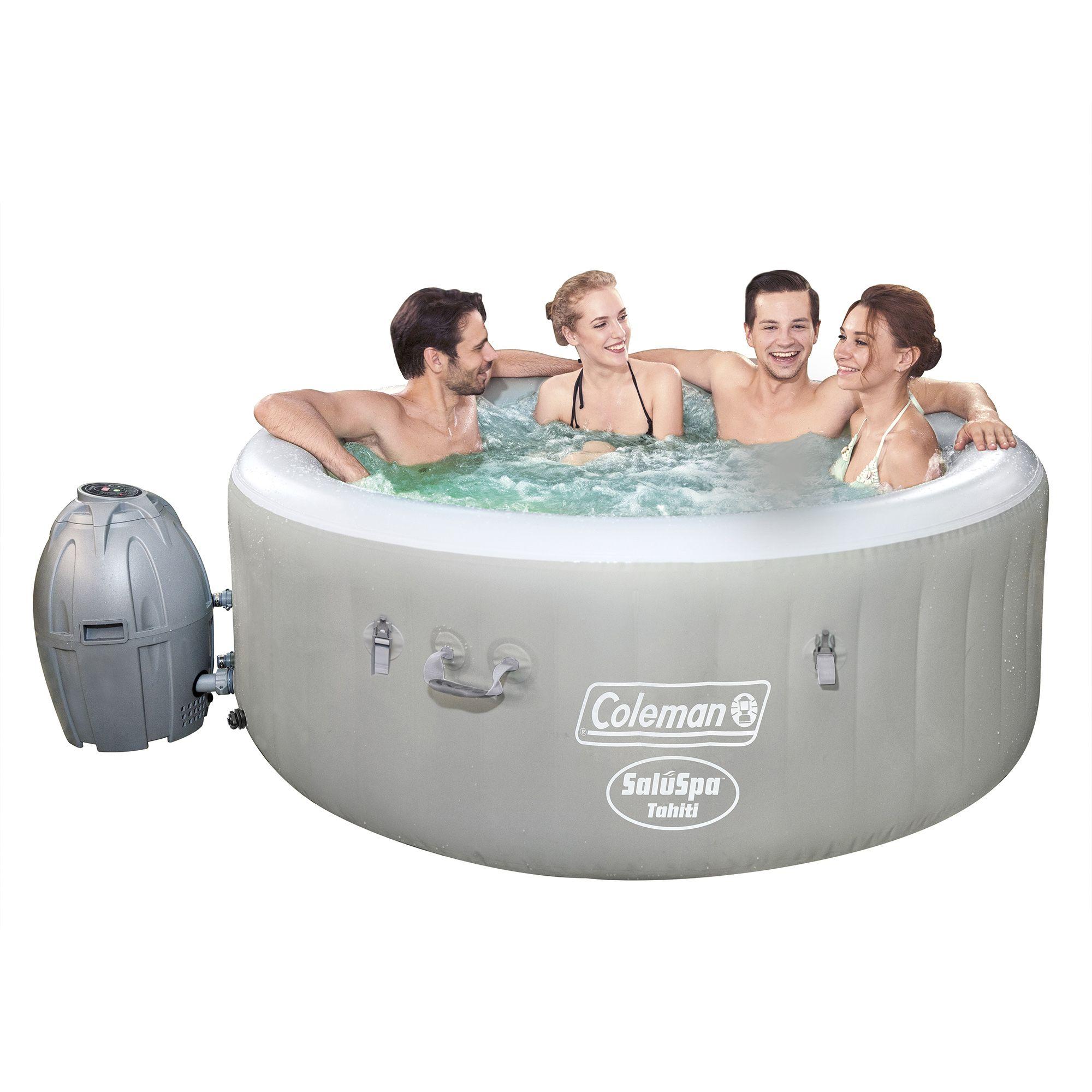 Coleman Saluspa 71 X 26 Tahiti Airjet Inflatable Hot Tub 2 4 Person Walmart Com In 2021 Inflatable Hot Tubs Hot Tub Spa Hot Tubs
