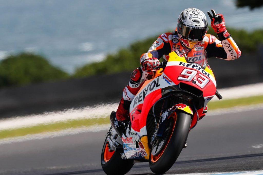Hasil Kualifikasi Motogp Australia  Marc Marquez Pole Position
