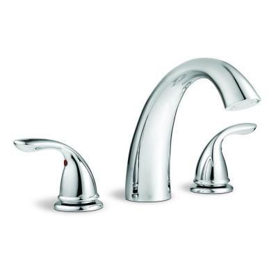 glacier bay roman tub faucet. Glacier Bay Builders 2 Handle Deck Mount Roman Tub Faucet in Chrome  fruitesborras com 100 Images The