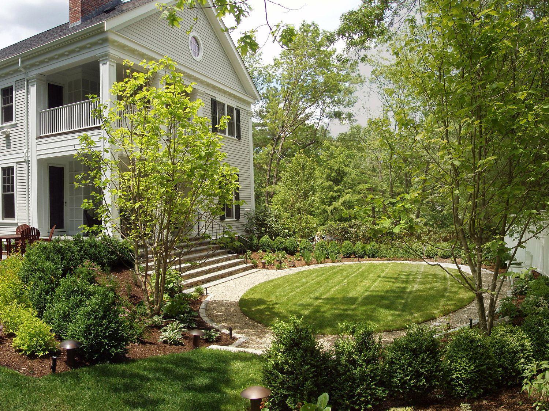 Side Garden Rockport Road Residence Landscape Architecture